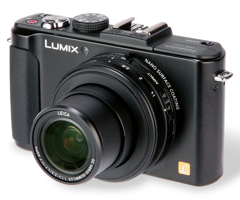The Panasonic Lumix DMC-LX7