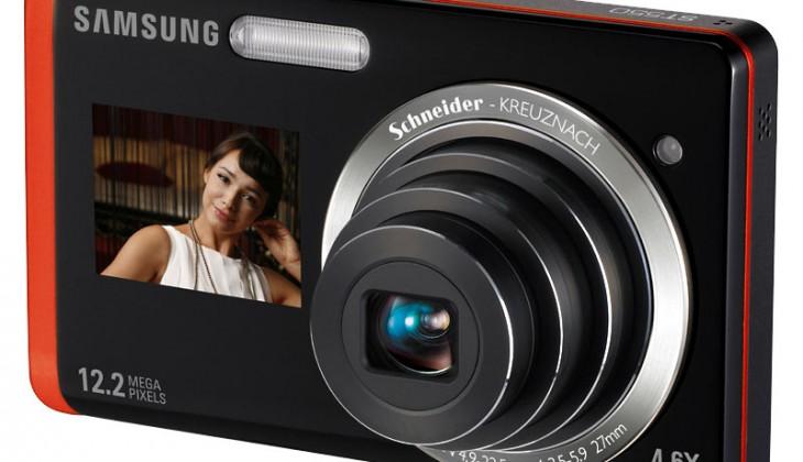 The Samsung ST550 camera