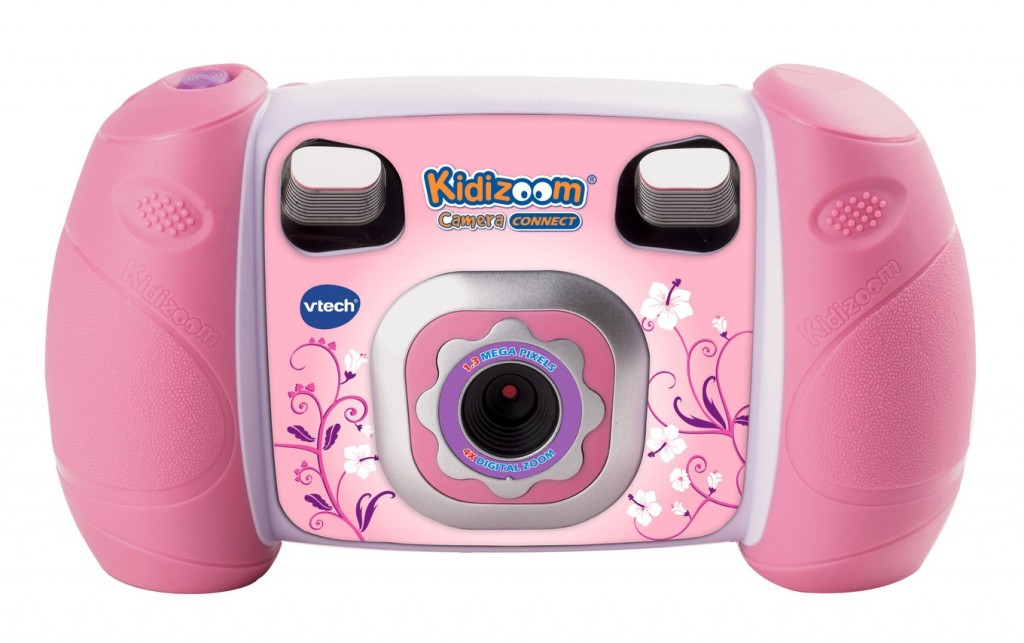 The VTech Kidizoom in pink