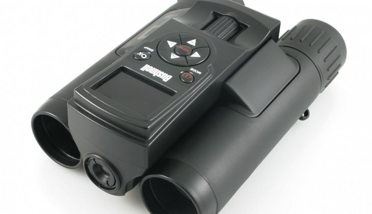 The Bushnell ImageView HD 118328 binoculars with digital camera.