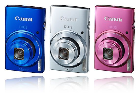 Canon Ixus 155 in various colors