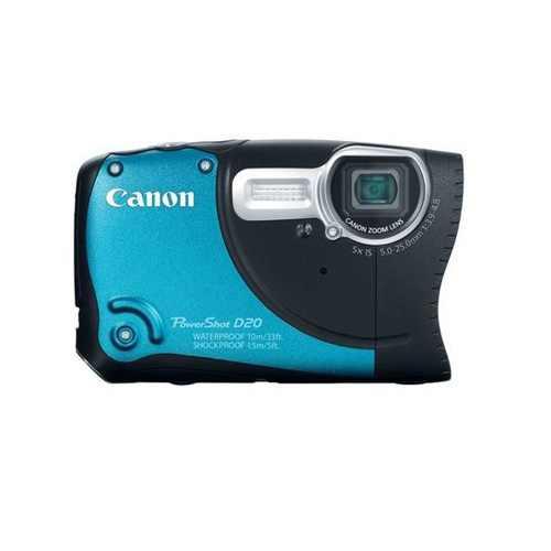 The Canon PowerShot D20