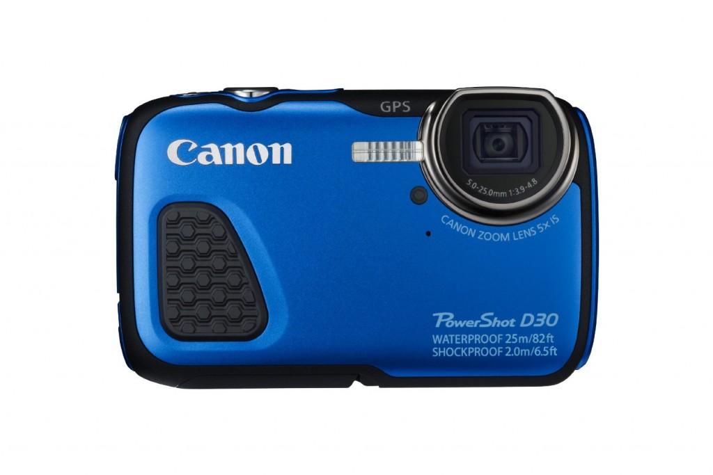 The Canon Powershot D30 underwater camera