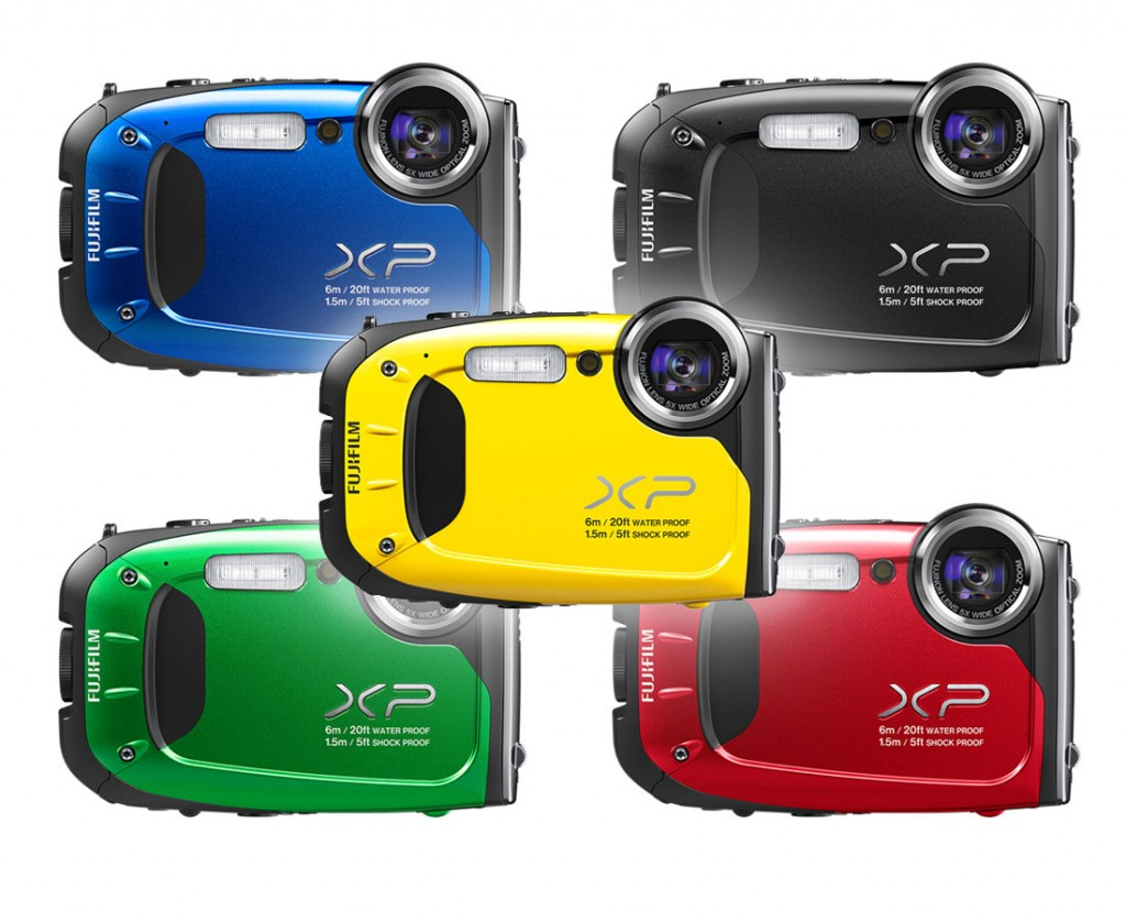 Fujifilm XP60 in various color options