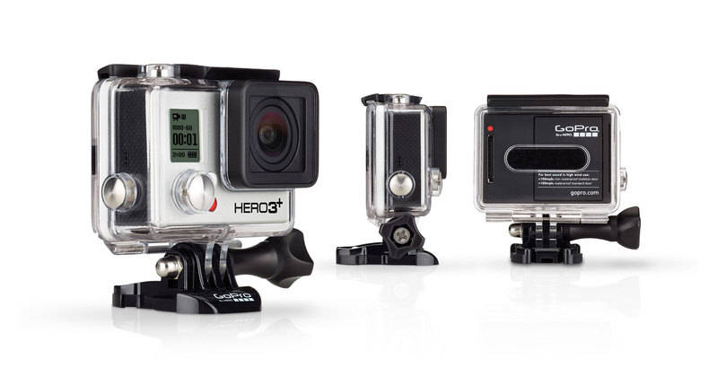 GoPRO Hero 3+ Black Edition mini camcorder