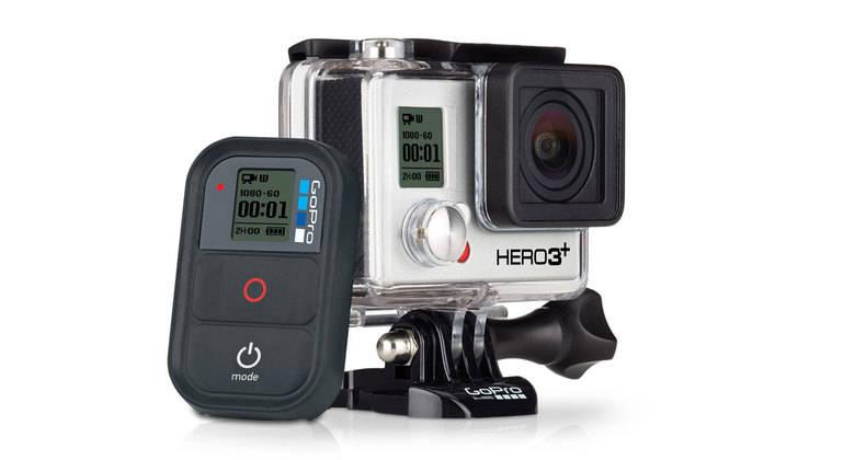 The Gopro Hero 3+ camera
