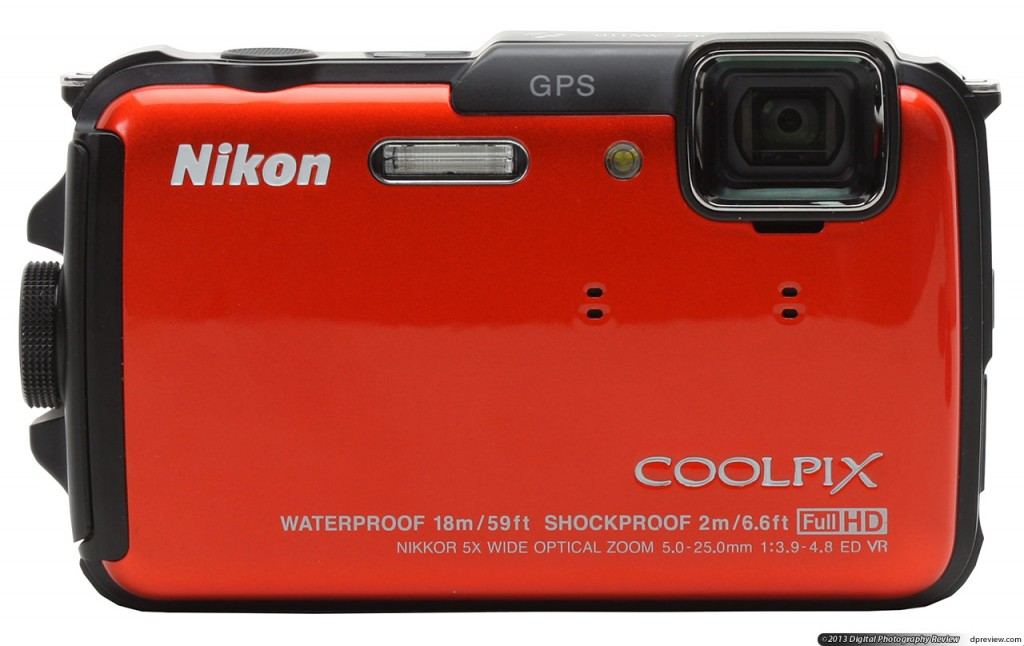 The Nikon Coolpix AW110 waterproof camera