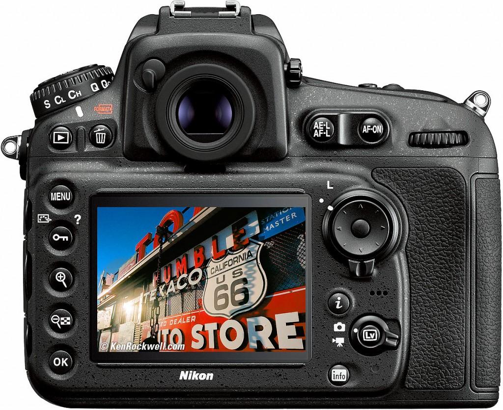 The Nikon D810 camera model