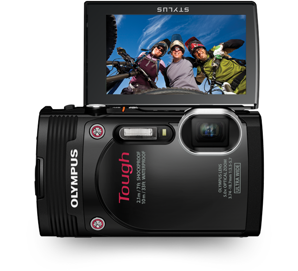 The Olympus TG 850 LC LCD waterproof