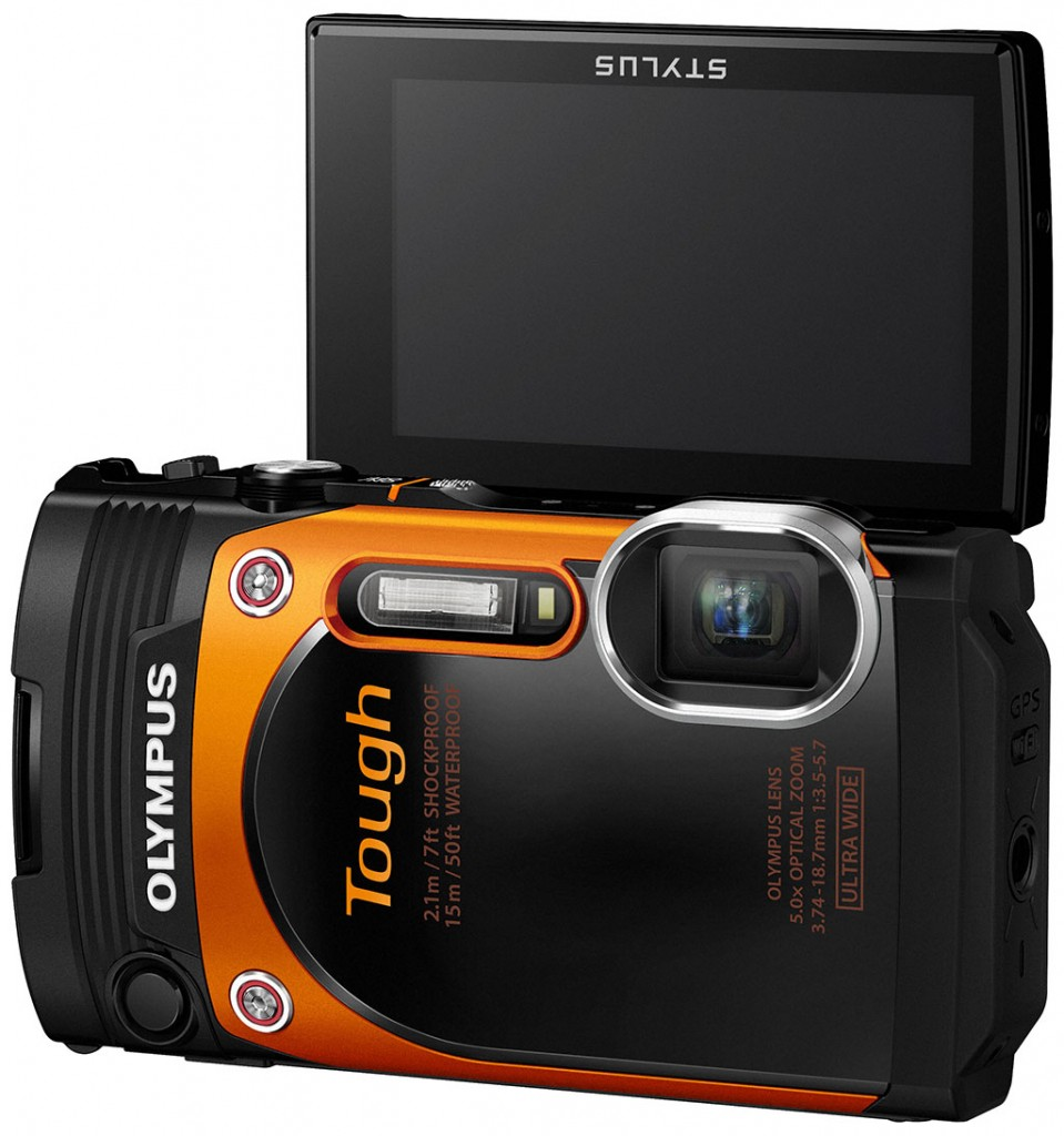 The Olympus Tough TG 860 LCD