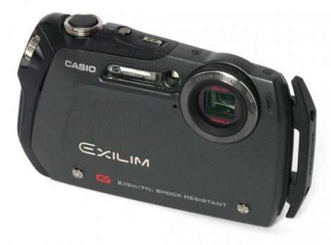 Black Casio Exilim EX-G1 camera