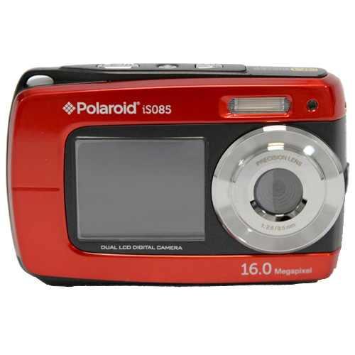 Red iSO85 Polaroid camera