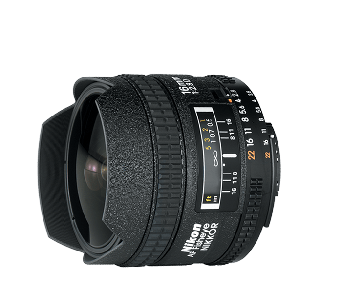 Nikon Fisheye Lens - Nikkor 16 mm