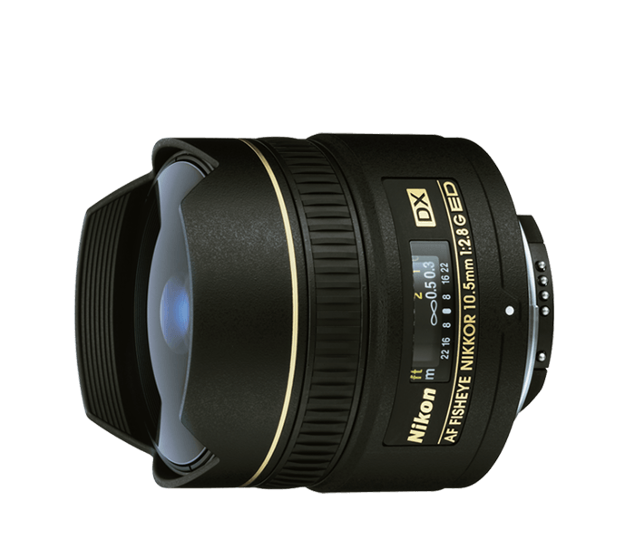 Nikon Fisheye Lens -AF DX Fisheye-Nikkor 10.5 mm f/2.8