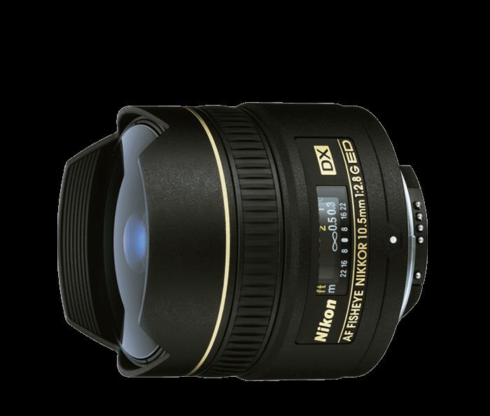 Nikon Fisheye Lens -AF DX Fisheye-Nikkor 10.5 mm f/2.8
