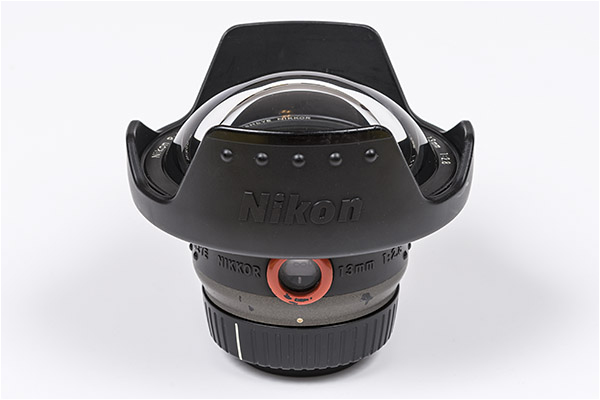 ikon Fisheye Lens for Underwater Photography - Nikkor 13 mm