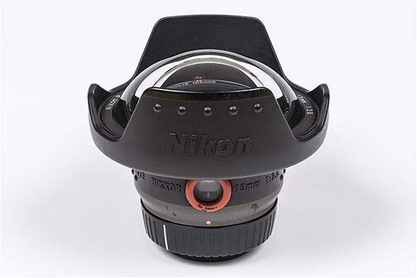 ikon Fisheye Lens for Underwater Photography - Nikkor 13 mm