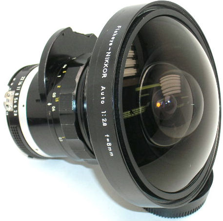 Nikon Fisheye Lens - Nikkor 8mm f/2.8