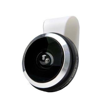 Apexel 235 Degree Super Fisheye Selfie Lens Universal Clip