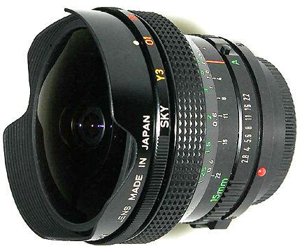 FD 15mm Canon fisheye Lens