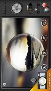 Fisheye Pro fisheye lens app for iPhone