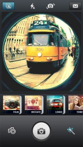 InstaFisheye – LOMO Fisheye Lens app for Instagram