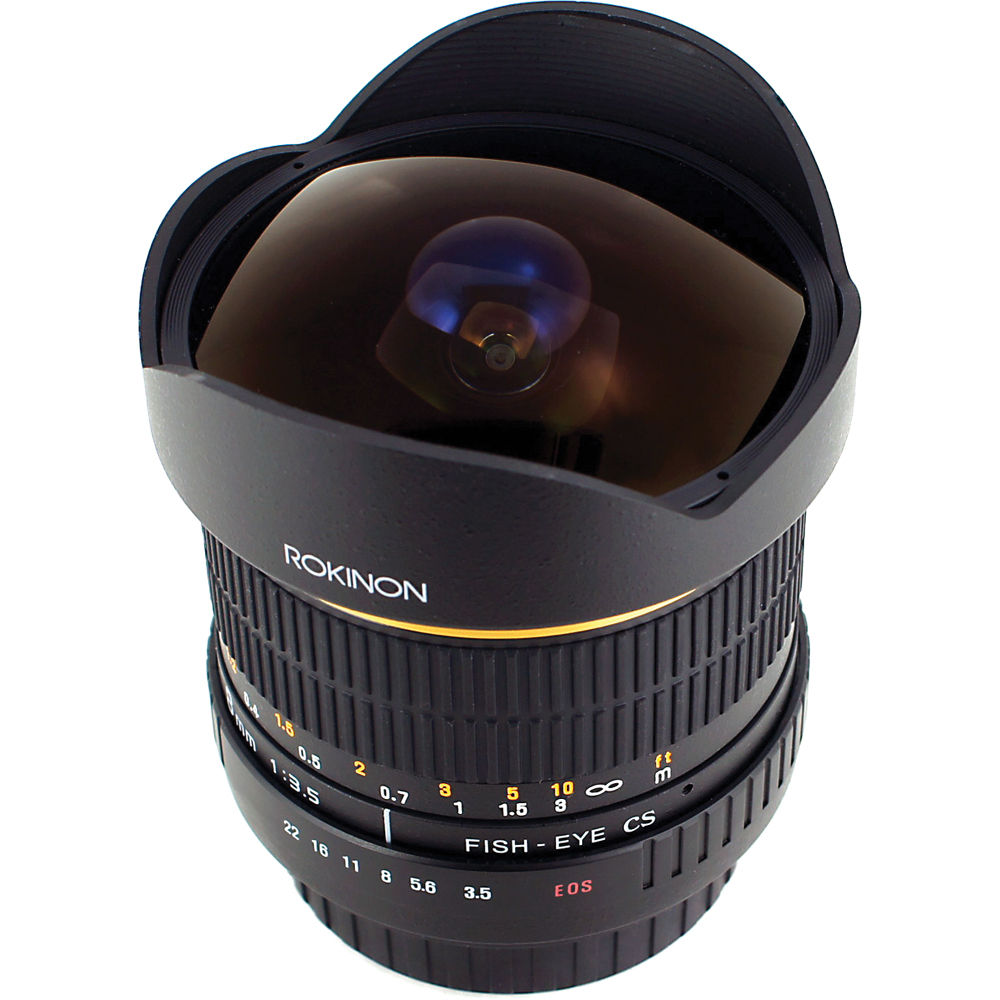 Rokinon 8mm UltraWide Angle Fisheye Lens for Canon