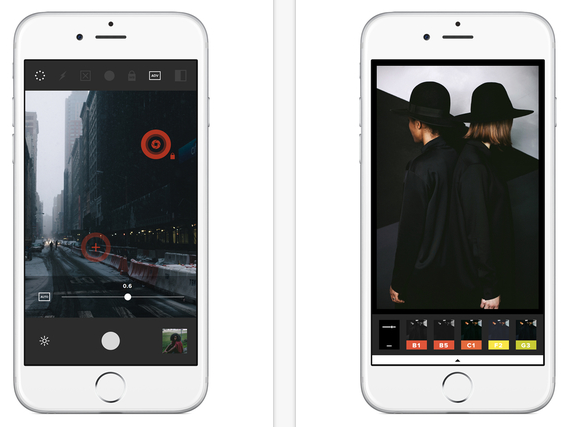 VSCO CAM screenshot - best photo editing app for iPhone