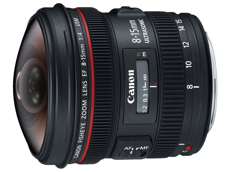 canon fisheye lens 8 -15 mm f/4L USM