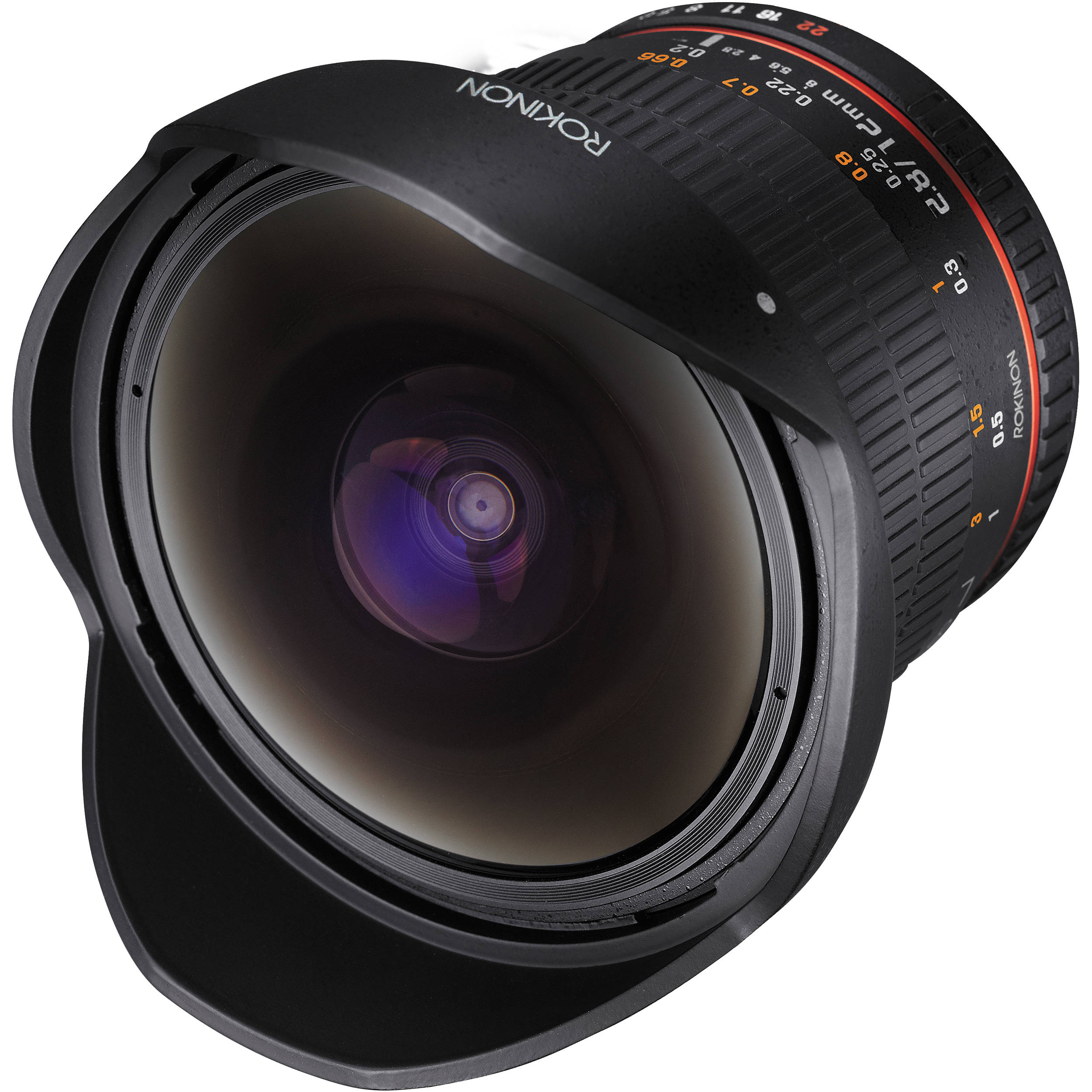 Rokinon 12mm Fisheye Lens for Canon