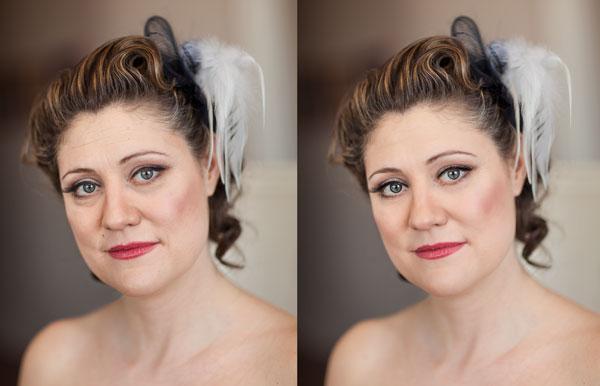 photo retouching tutorial for skin