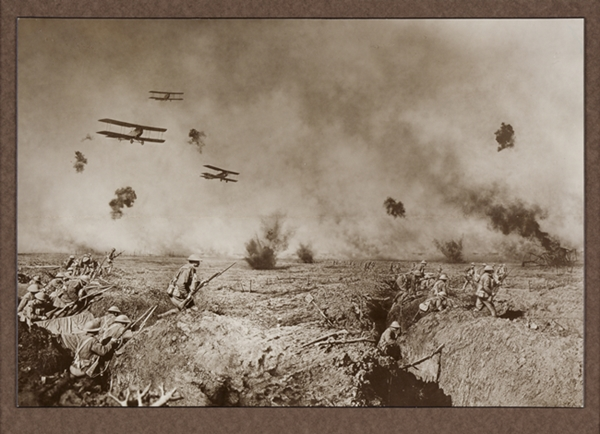 Picture Editing of a WW I photograph