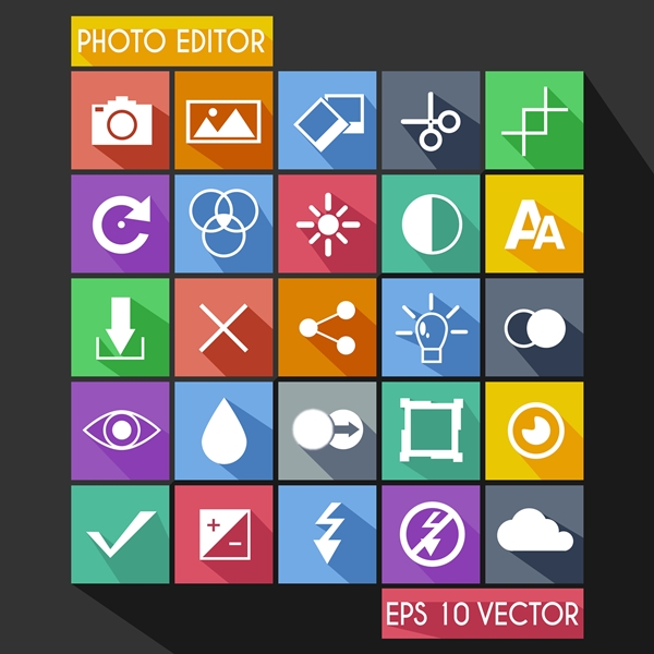Photo Editor - Picture Editing Icons