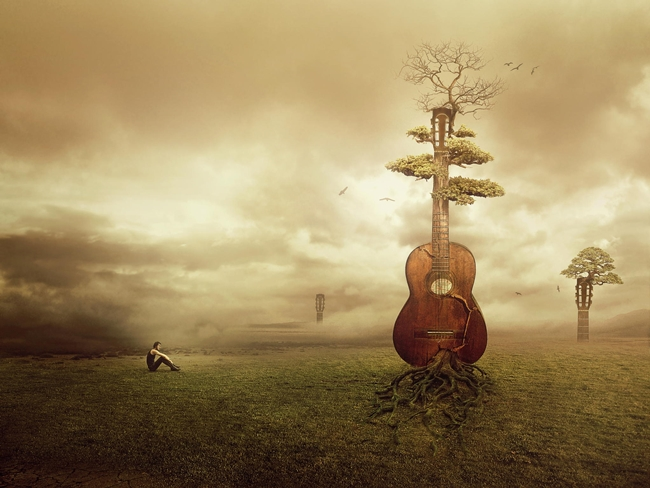 The Forgotten Songs - Photo Manipulation by Amandine van Ray