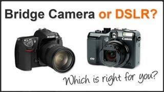 bridge camera vs dslr
