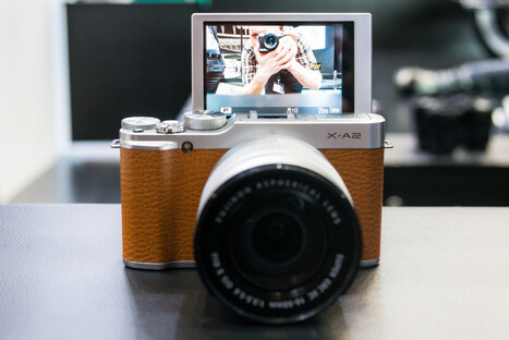 Fujifil X-A2 beautifully designed mirrorless camera