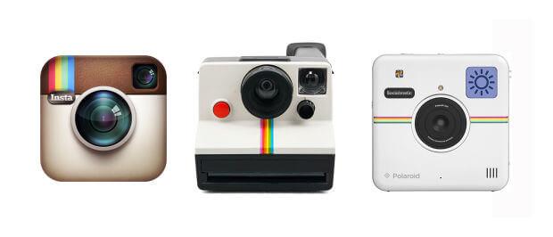 Polaroid Instant film Camera Selection