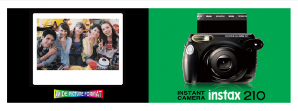 Fujifilm Instant Film Camera wide 210