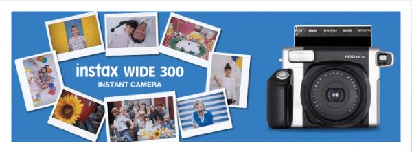 fujifilm wide 300 instant film camera