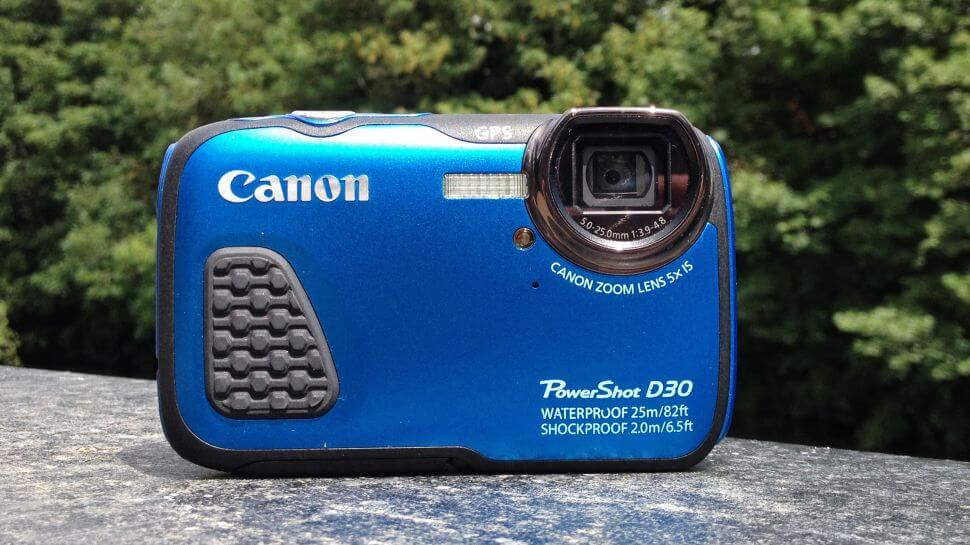 canon underwater camera