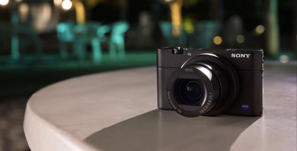 the compact and elegant Sony RX100 III digital camera