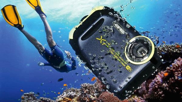 fujifilm underwater camera