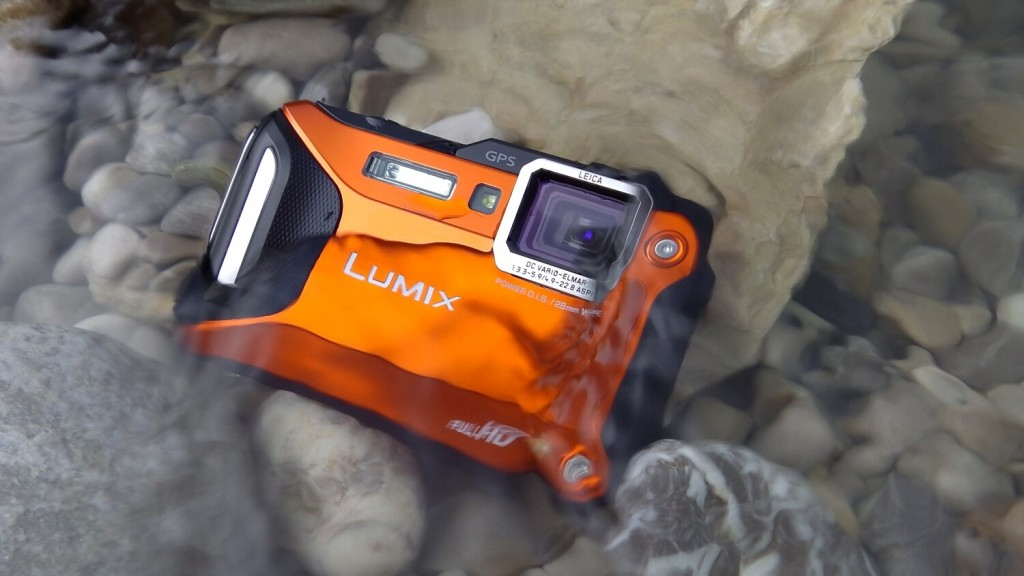 Panasonic underwater camera
