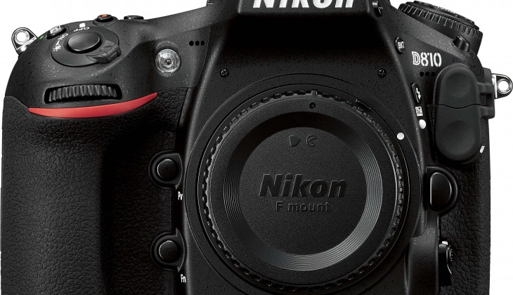 Nikon d810 with closed shutter