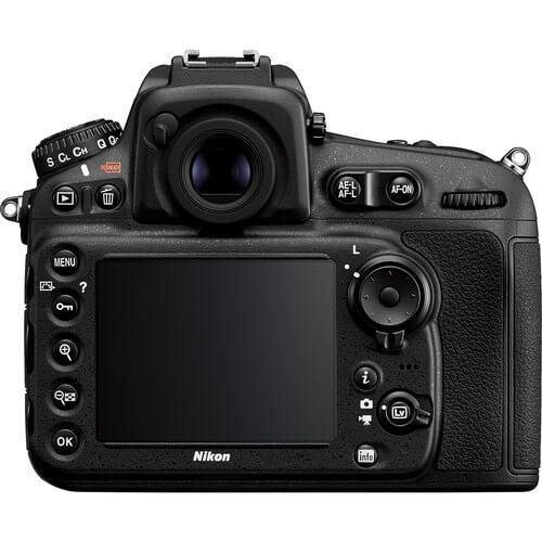 Nikon d810 LCD and controls