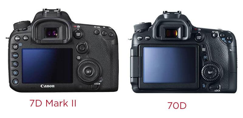 design comparison between cameras