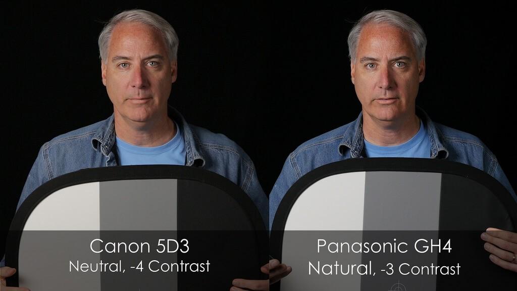 Panasonic GH4 vs. Canon 5D3