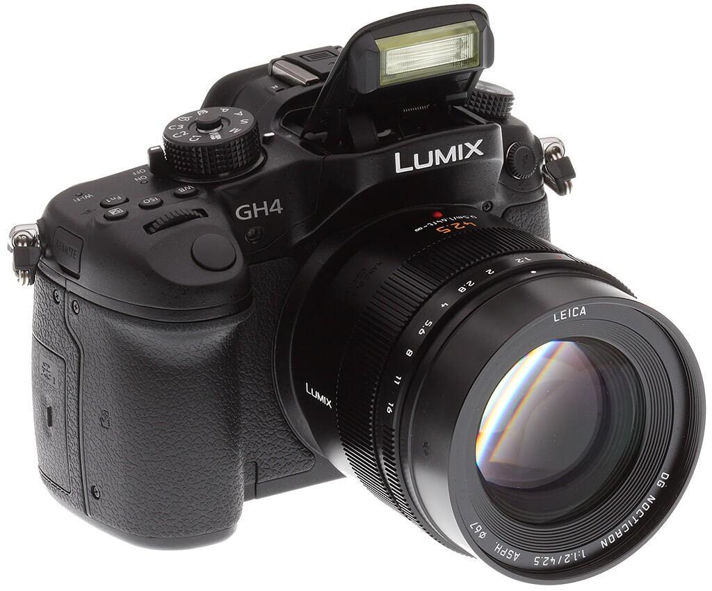Panasonic GH4 with Leica lens