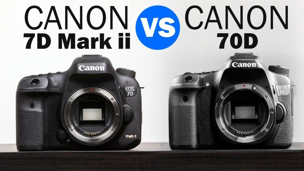 Canon 7D Mark II vs 70D