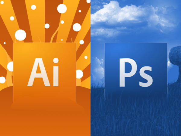 adobe illustrator vs photoshop